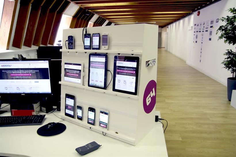 The 64 Digital Super dooper device testing station